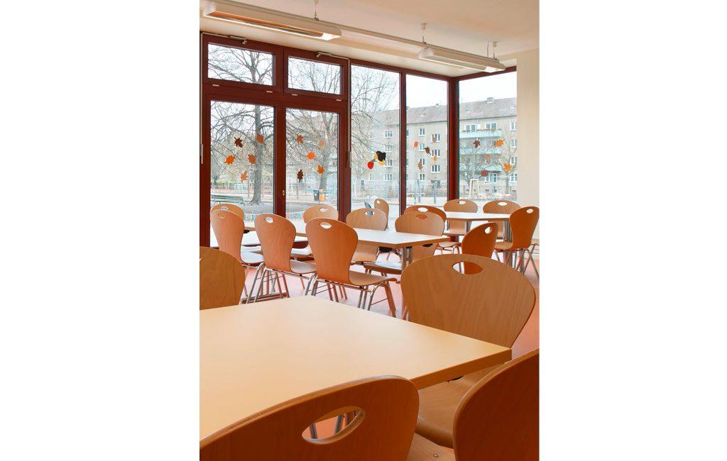 Umbau Erweiterung Mensa Schule