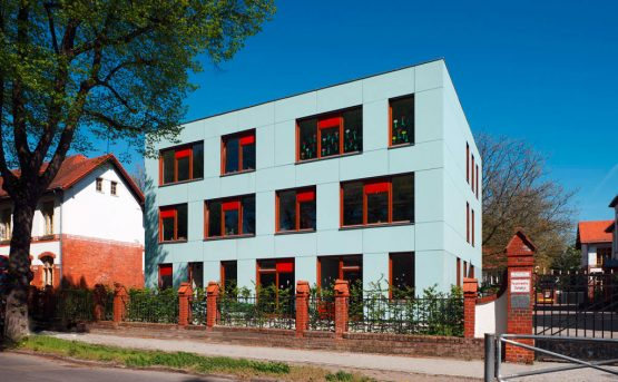 CLEMENS BRENTANO ELEMENTARY SCHOOL, BERLIN, GERMANYEXTENSION OF A LISTED SCHOOL ENSEMBLE