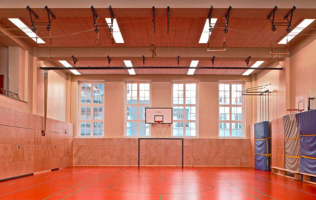 Umbau Mensa Sanierung Sporthalle
