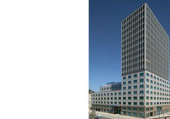 NEUBAU EINES HOTEL- UND BÜROGEBÄUDES, QUARTIER KÖNIGLICHE PORZELLANMANUFAKTUR BERLIN