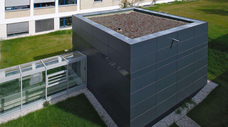 Bau Laborgebäude Helmholtz Zentrum Berlin