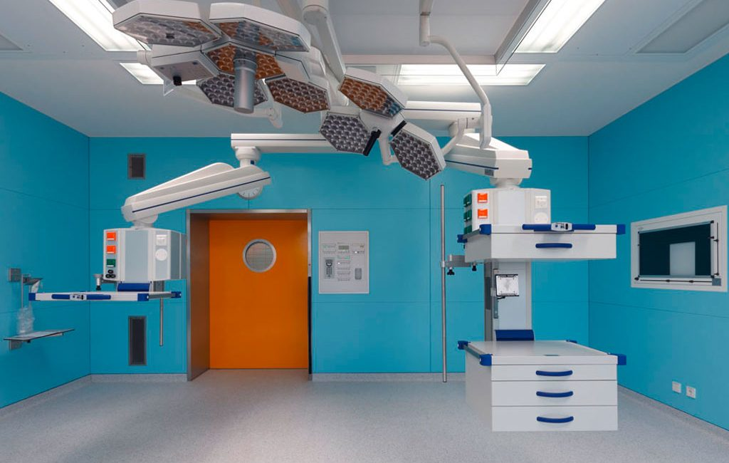 Sanierung Krankenhaus