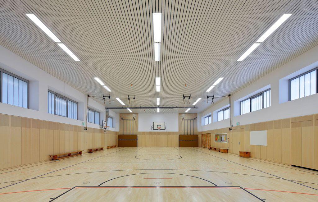 Umbau Sanierung Schule Sporthalle Mensa