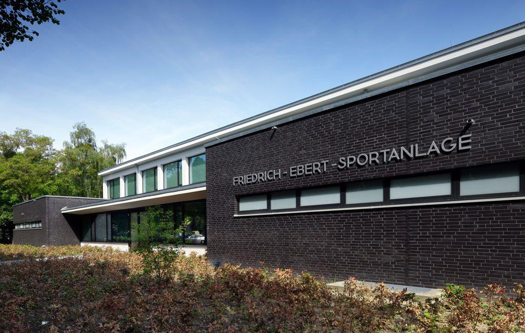 Umbau und Sanierung Berlin Sportanlage