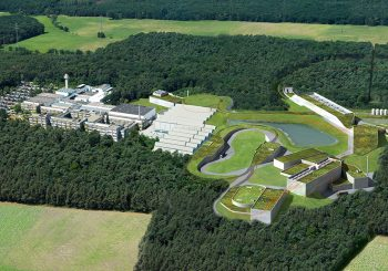 FAIR ACCELERATOR AND EXPERIMENTAL BUILDINGS [FACILITY FOR ANTIPROTON AND ION RESEARCH], DARMSTADT