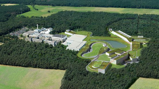 FAIR BESCHLEUNIGER- UND EXPERIMENTIERBAUWERKE  [FACILITY FOR ANTIPROTON AND ION RESEARCH], DARMSTADT