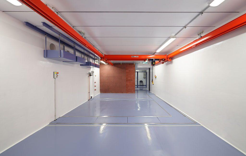 Bau Strahlenschutzbunker