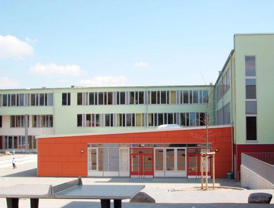 COMMUNITY CENTER MARETSTRASSE, HAMBURG, NEUBAU STADTTEIL-SCHULZENTRUM