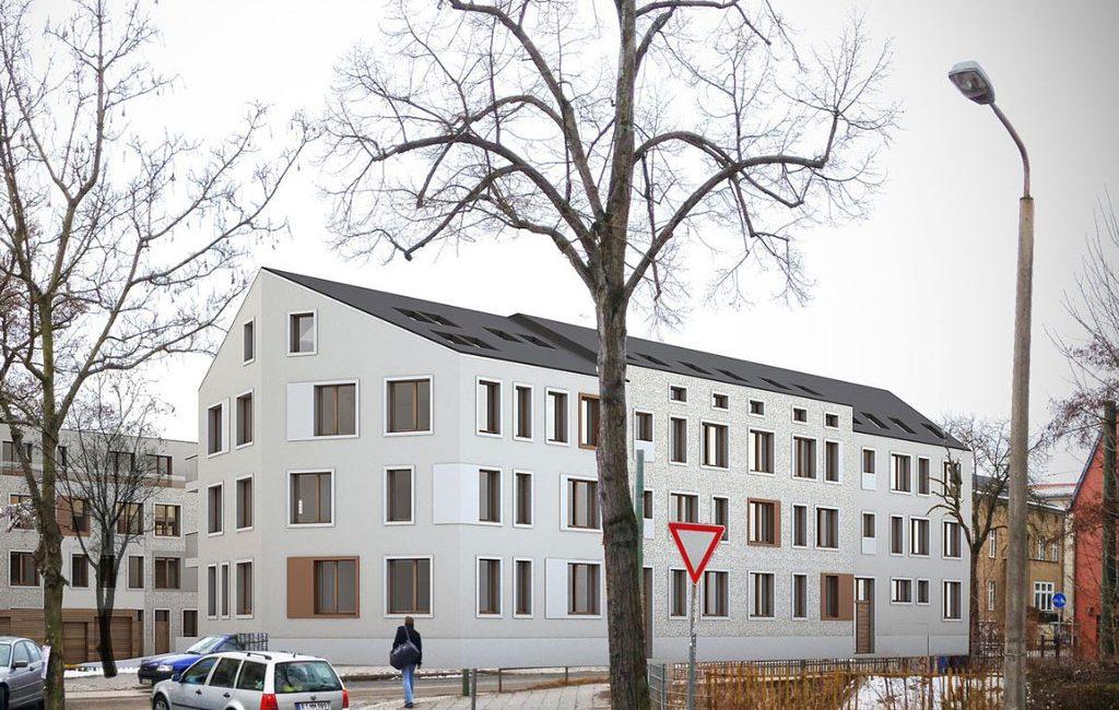 Neubau Wohngebäude Potsdam