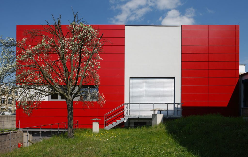 Umbau Laborgebäude