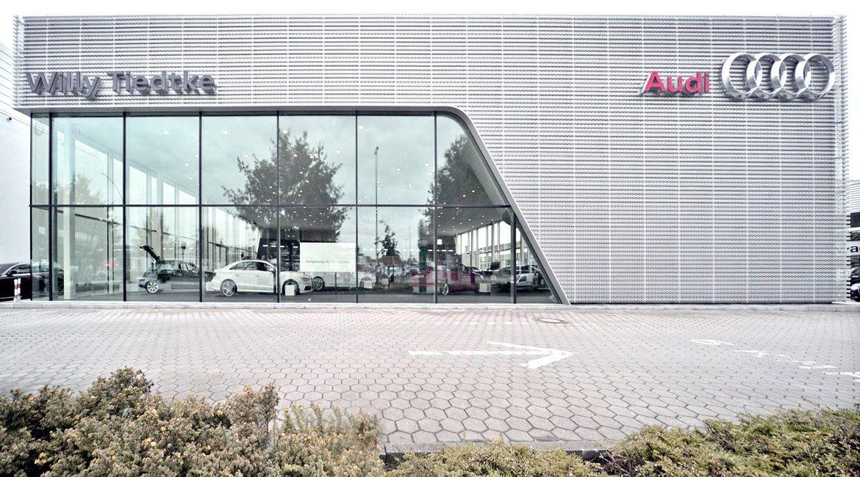 Bau Audi Autohaus
