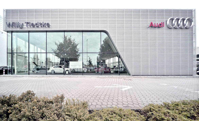 Neubau Autohaus Audi Terminal Hamburg Dgi Bauwerk