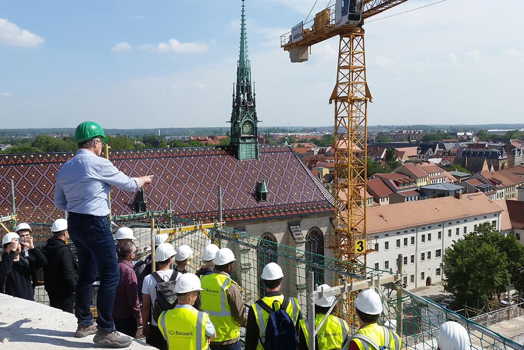Castle Wittenberg – DGI Bauwerk Team visited the site in Lutherstadt Wittenberg
