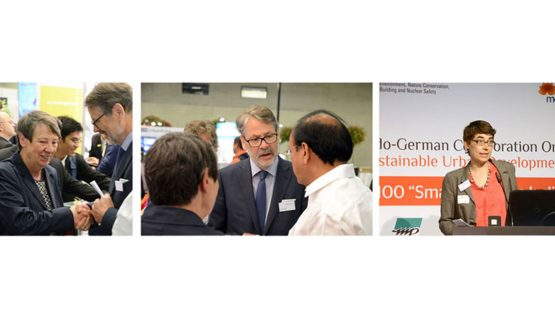 Metropolitan Solutions 2016 in Berlin | IGSI - Indo-German Smart Initiative stieß auf großes Interesse
