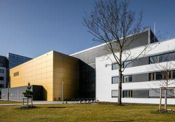 FRITZ-HABER-INSTITUT, BERLIN,  NEUBAU EINES FORSCHUNGSGEBÄUDES FÜR PRÄZISIONSLASERLABORATORIEN MIT BÜROTRAKT