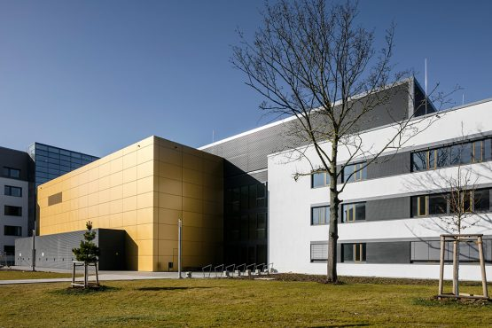 FRITZ HABER INSTITUTE, BERLIN,  NEW CONSTRUCTION OF A RESEARCH BUILDING FOR PRECISION LASER LABORATORIES WITH OFFICE AREA