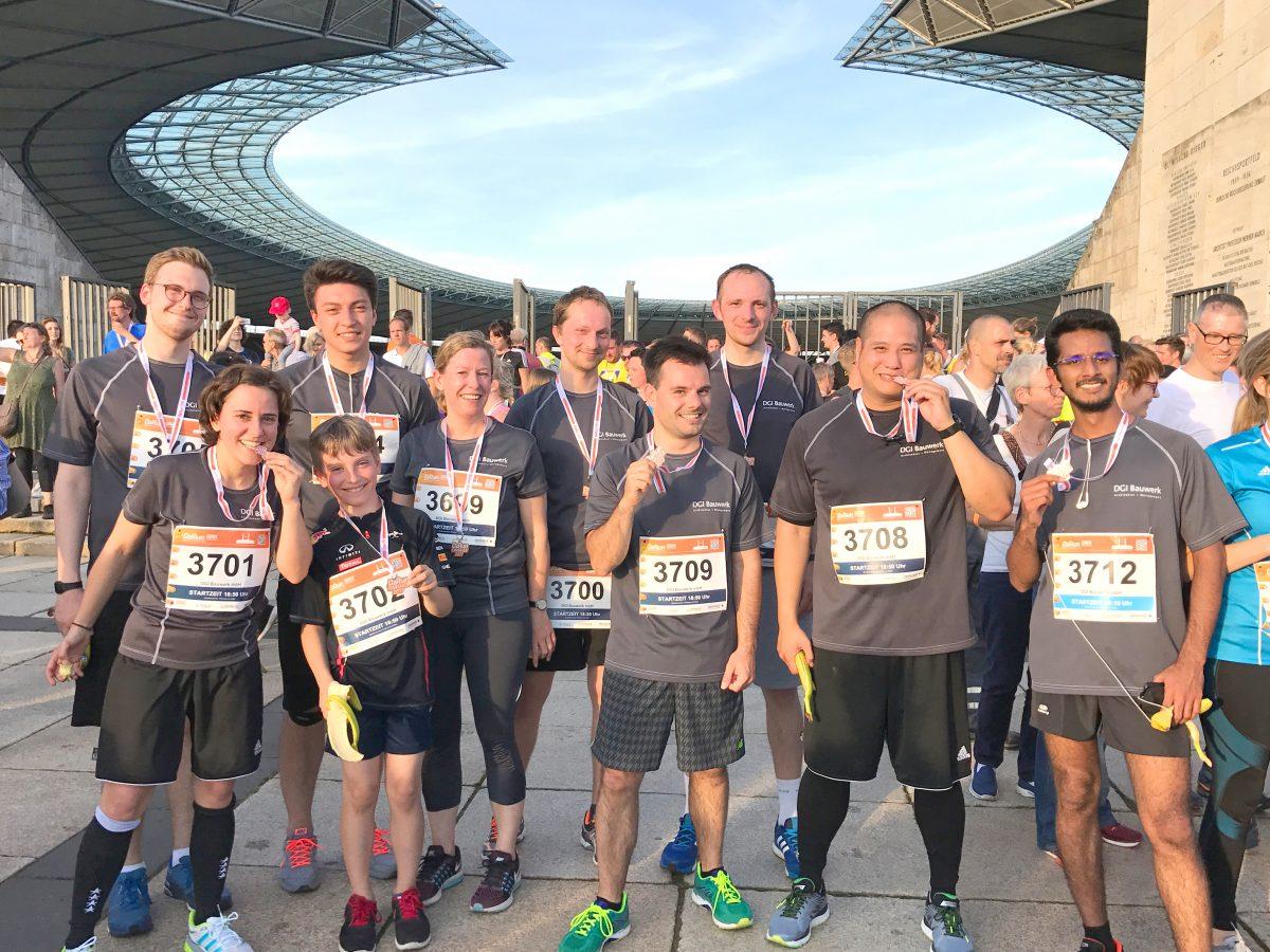 Experten für Beschleunigung  B2Run-Firmenlauf im Olympiastadion