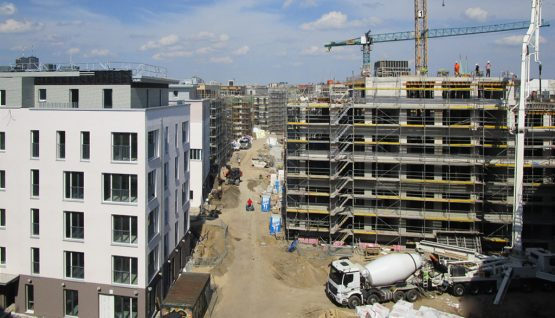 Topping out ceremony: The Berlin Möckernkiez celebrates