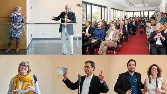 Einweihungsfeier - Wissenschaft im Neubau Abteilung Physikalische Chemie, Fritz-Haber-Institut der Max-Planck-Gesellschaft