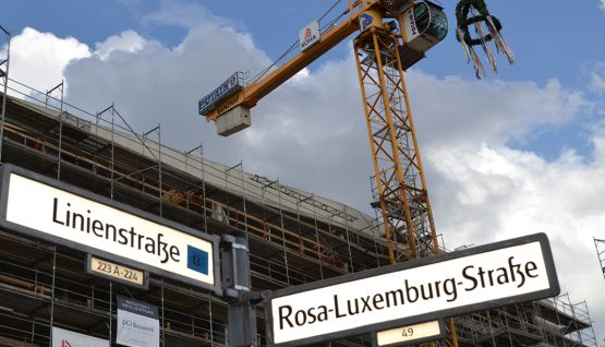 Suhrkamp Publishing House Berlin – Topping-Out Ceremony at the Rosa-Luxemburg-Platz