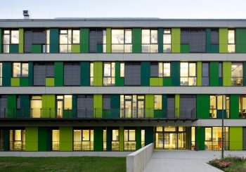 MAX-PLANCK-INSTITUT FÜR MOLEKULARE GENETIK, BERLIN, NEUBAU DES INSTITUTSGEBÄUDES