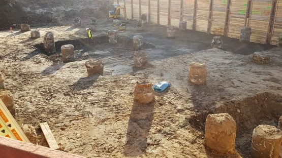 50Hertz Transmission GmbH – Start of construction after completion of excavation