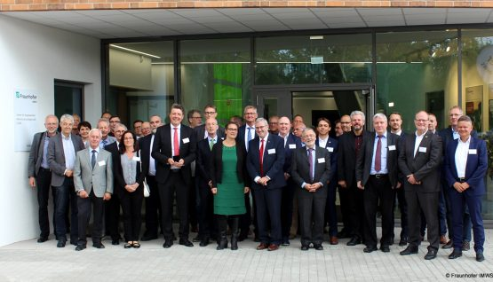 Ceremonial opening in Halle  Center for Applied Microstructure Diagnostics [CAM]