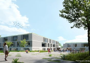 1st prizeDGI Bauwerk and GINA Barcelona Architects DEVELOPMENT OF THE SCHOOL SITE 'OBERSCHULE AM ROLLBERG', Bernau