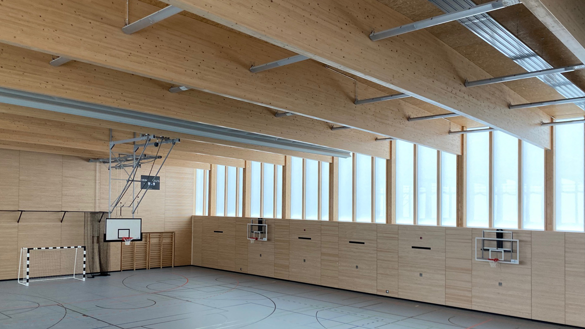 Sport activities on the campusCompletion of the first type sports hall at the Lily-Braun Gymnasium Berlin-Spandau